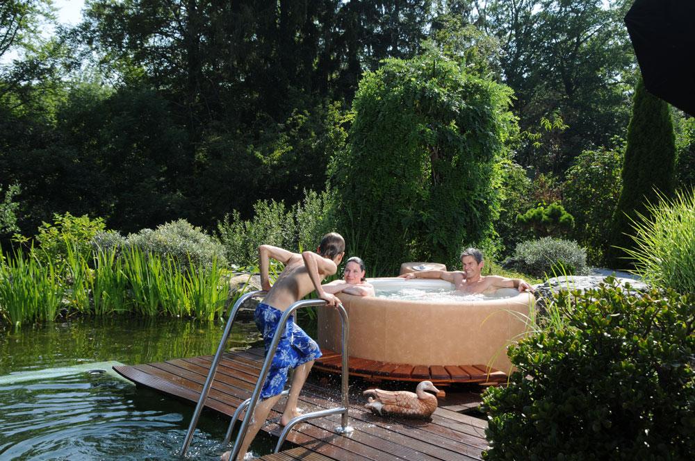Utilisez votre Softub en été
